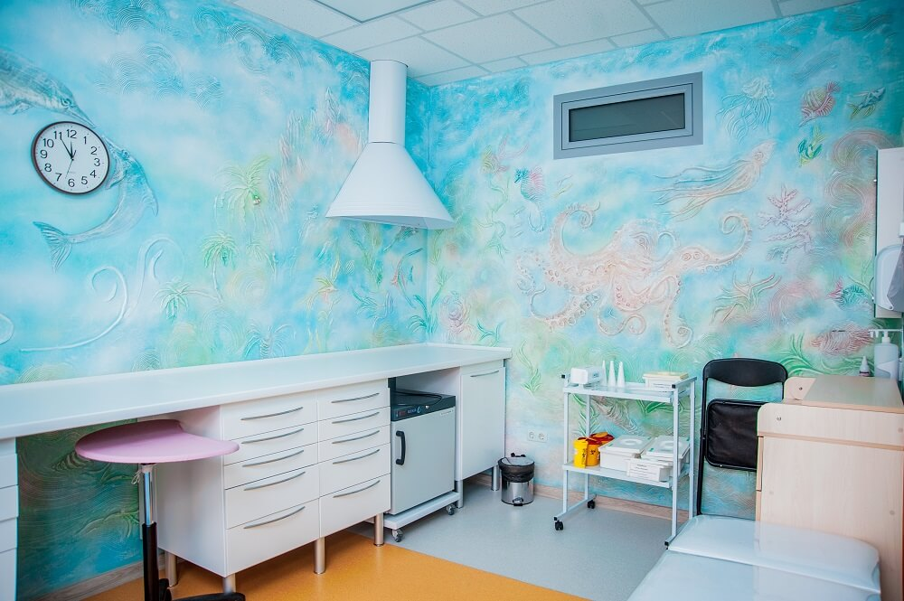 Прививочный кабинет в детском медицинском центре Гамма+