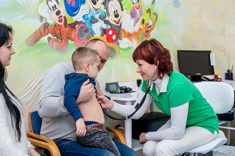Клыпа Ирина - врач-педиатр, детский мед.центр Гамма +