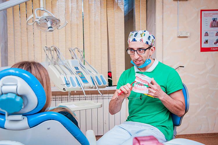 Селегень Владимир - врач стоматолог-терапевт, клиника Гамма