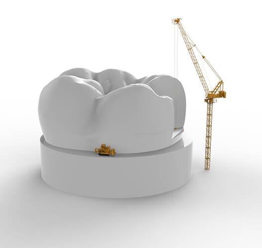 Восстановление молочных зубов ГАММА