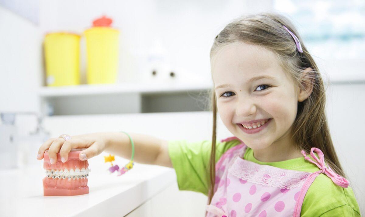Ортодонтические пластины или брекеты